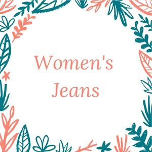 Ladies Jeans are in this section of my closet!